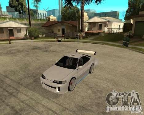 Honda Integra TUNING для GTA San Andreas вид сзади слева