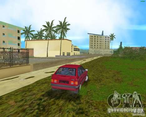 Lada Samara для GTA Vice City вид справа