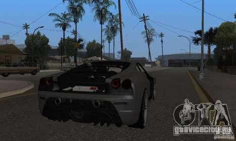 Ferrari 430 Scuderia Novitec для GTA San Andreas вид справа