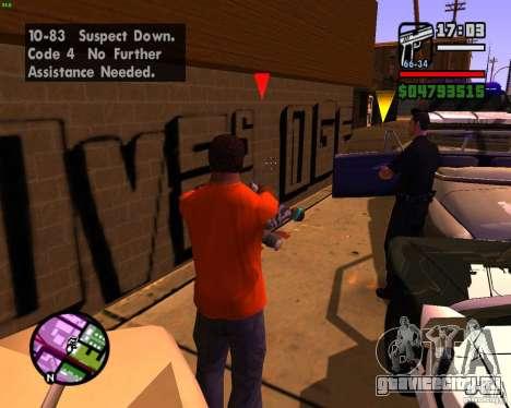 Погоня за машинами для GTA San Andreas пятый скриншот