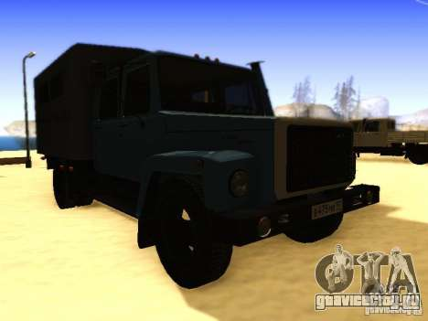 ГАЗ 3309 Двухрядный для GTA San Andreas вид справа