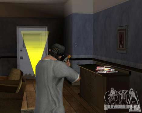 Ружьё М511 для GTA San Andreas третий скриншот