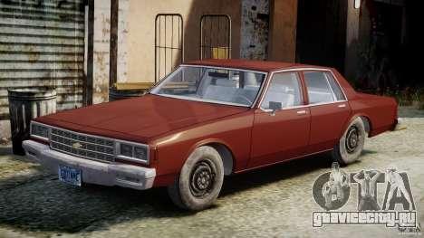 Chevrolet Impala 1983 v2.0 для GTA 4