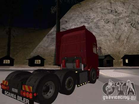 Scania 460 для GTA San Andreas вид слева
