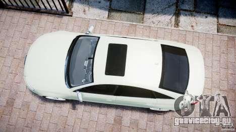 Audi RS6 2010 для GTA 4 вид справа