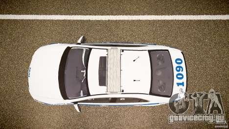 Honda Accord Type R NYPD (City Patrol 1090) ELS для GTA 4 вид справа