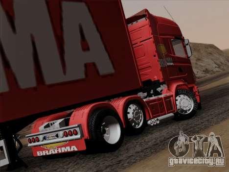 Scania R620 Brahma для GTA San Andreas вид справа