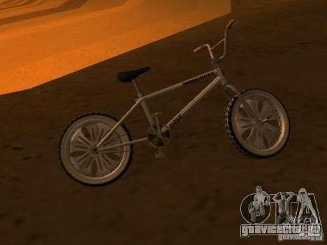 New Bmx для GTA San Andreas вид сзади