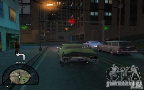 GPS навигатор с голосом для GTA San Andreas