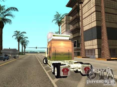 Kenworth W900 для GTA San Andreas вид слева