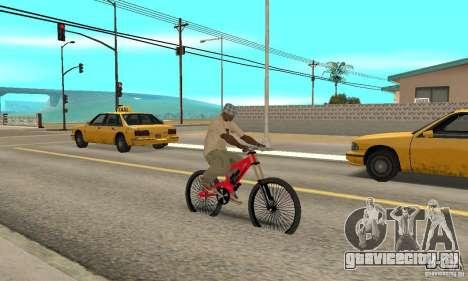 Новый BMX для GTA San Andreas вид справа