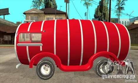 Beer Barrel Truck для GTA San Andreas вид слева
