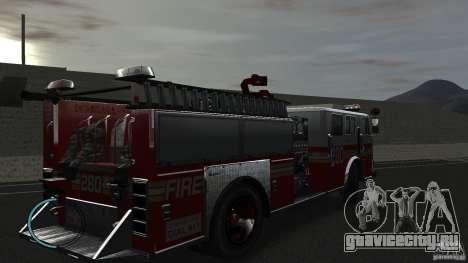 NEW Fire Truck для GTA 4 вид справа