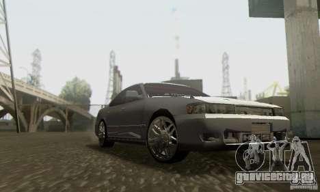 Toyota Cresta JZX90 для GTA San Andreas вид сзади