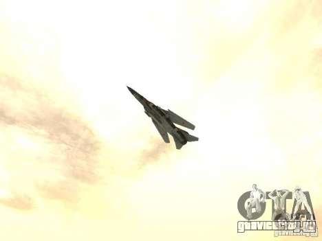 Миг-23 для GTA San Andreas вид справа