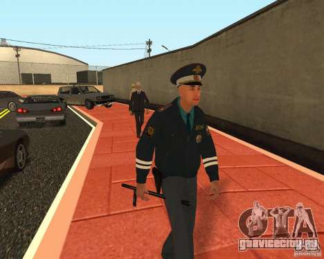 Майор ДПС для GTA San Andreas четвёртый скриншот