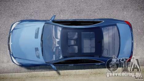 Mercedes-Benz S63 AMG [Final] для GTA 4 вид изнутри