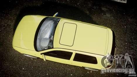 Volkswagen Golf IV R32 для GTA 4 вид сзади