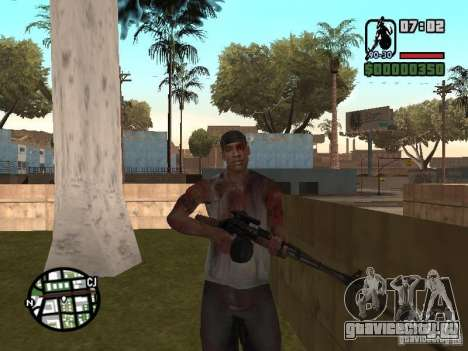 Markus young для GTA San Andreas восьмой скриншот
