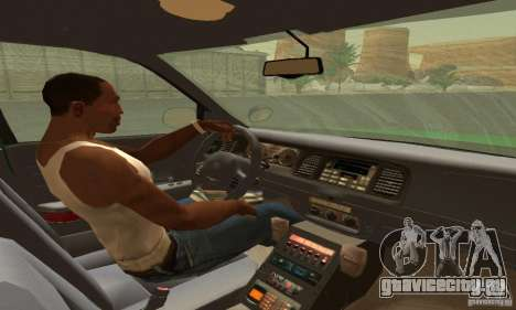 Ford Crown Victoria Vermont Police для GTA San Andreas
