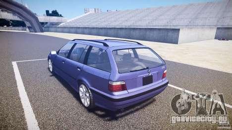 BMW 318i Touring для GTA 4 вид сзади слева
