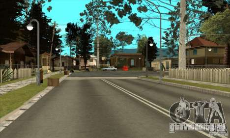 New Grove-Street для GTA San Andreas