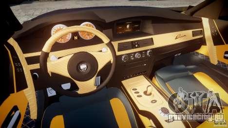 BMW M5 Lumma Tuning [BETA] для GTA 4 вид сзади