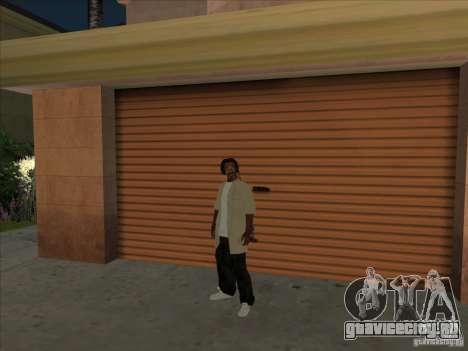 Snoop Dogg Ped для GTA San Andreas второй скриншот