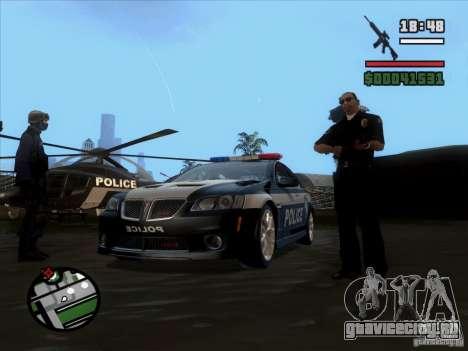 Pontiac G8 Police для GTA San Andreas