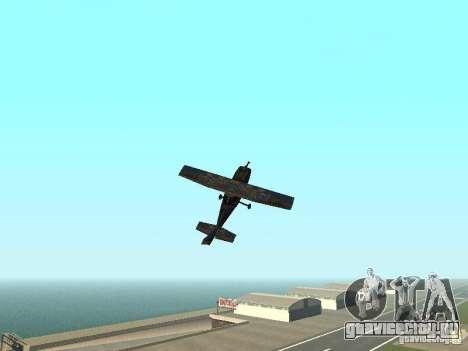 Новый самолёт Dodo для GTA San Andreas вид сбоку
