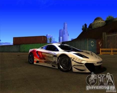 McLaren MP4 - SpeedHunters Edition для GTA San Andreas вид слева