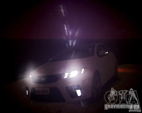 Kia Cerato Koup 2011 для GTA 4 вид сбоку