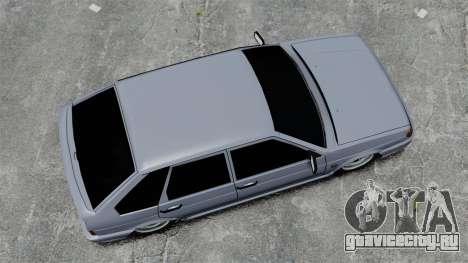 ВАЗ-2114 v1.1 для GTA 4 вид справа