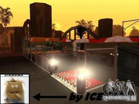 Nev Groove Street 1.0 для GTA San Andreas пятый скриншот