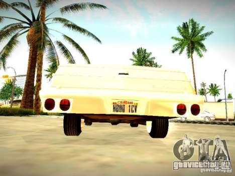 Chevrolet El Camino 1976 для GTA San Andreas вид справа