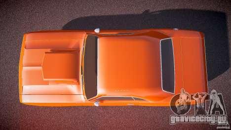 Dodge Challenger v1.0 1970 для GTA 4 вид справа