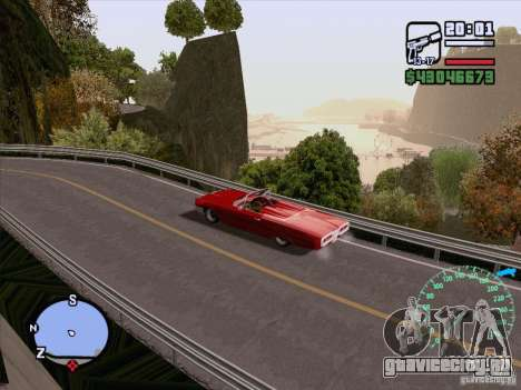 ENB Series v1.5 Realistic для GTA San Andreas восьмой скриншот