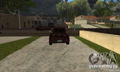 Fiat Novo Uno Sporting для GTA San Andreas вид сзади слева