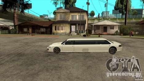 Sultan лимузин для GTA San Andreas вид слева