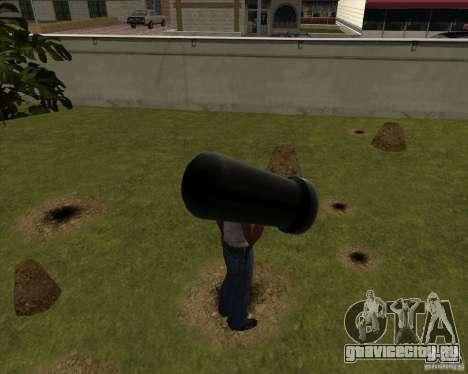 Пушка из Serious Sam для GTA San Andreas второй скриншот