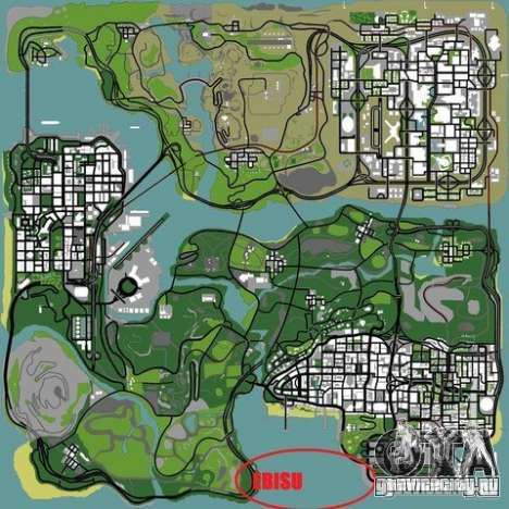 The Ebisu South Circuit для GTA San Andreas десятый скриншот