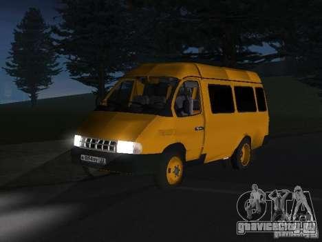 ГАЗель такси для GTA San Andreas вид слева