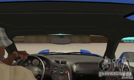 Mazda RX-7 Pickup для GTA San Andreas вид изнутри