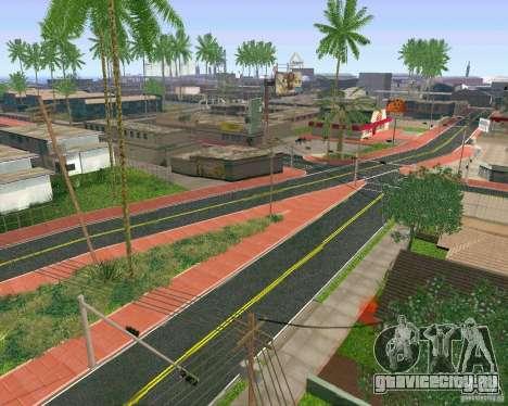 Новые Текстуры Лос-Сантоса для GTA San Andreas третий скриншот