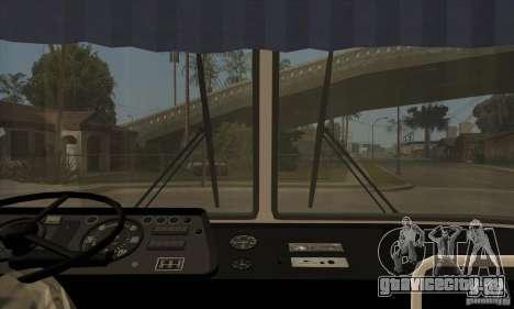 ЛАЗ 699Р (98-02) для GTA San Andreas вид изнутри