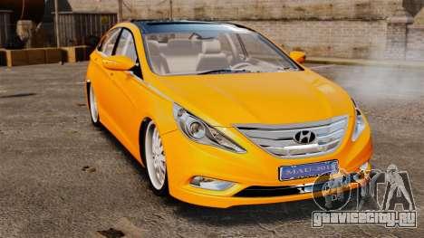 Hyundai Sonata 2011 v2.0 для GTA 4
