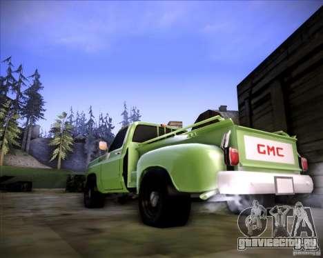 GMC 80 для GTA San Andreas вид сзади слева