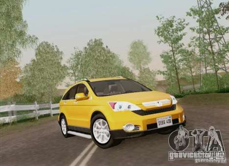 Honda CRV 2011 для GTA San Andreas вид сбоку