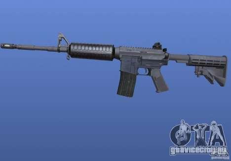 M4 Texture для GTA 4