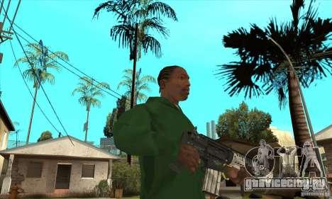 M4 без приклада для GTA San Andreas второй скриншот